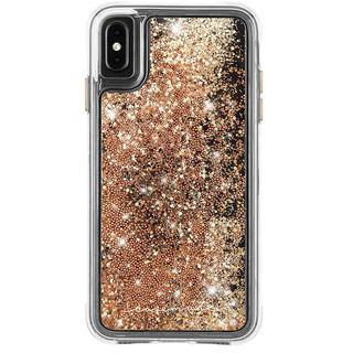 【iPhone XS Maxケース】Case-Mate Waterfall ケース gold iPhone XS Max
