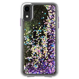 【iPhone XRケース】Case-Mate Waterfall ケース Glow Purple iPhone XR