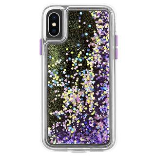 【iPhone XSケース】Case-Mate Waterfall ケース Glow Purple iPhone XS