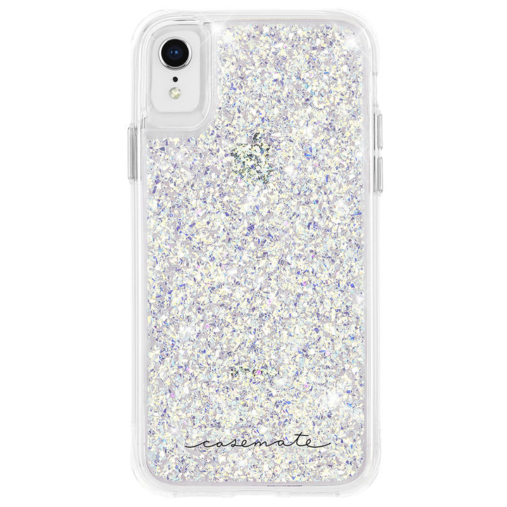 【iPhone XRケース】Case-Mate Twinkle - Stardust ケース silver iPhone XR_0