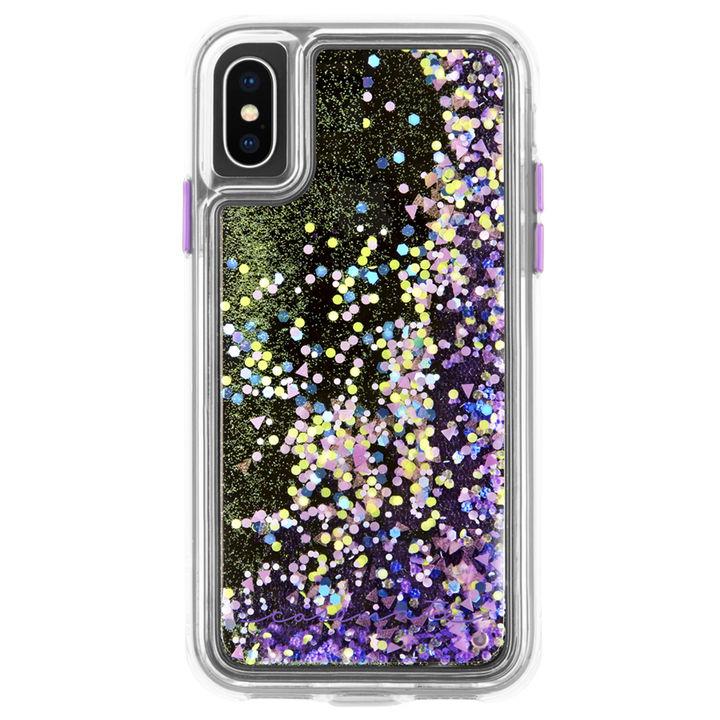 iPhone XS/X ケース Case-Mate Waterfall ケース Glow Purple iPhone XS/X_0