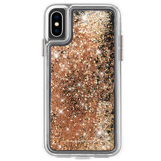 【iPhone XSケース】Case-Mate Waterfall ケース gold iPhone XS