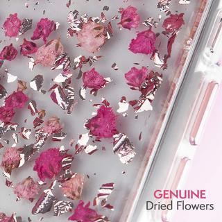 【iPhone XRケース】Case-Mate Karat Petals ワイヤレス充電対応 押し花ケース pink iPhone XR_3