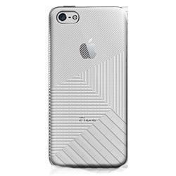 フローティングパターンカバーセット ミラーストライプ iPhone 5cケース