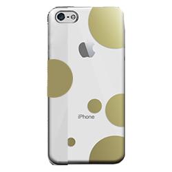 フローティングパターンカバーセット レインドロップ iPhone 5cケース