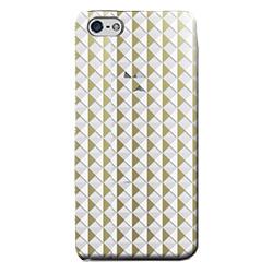 フローティングパターンカバーセット スタッズ iPhone 5cケース