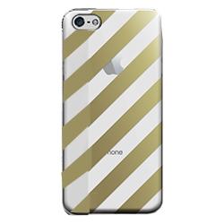 フローティングパターンカバーセット キャンディストライプ iPhone 5cケース