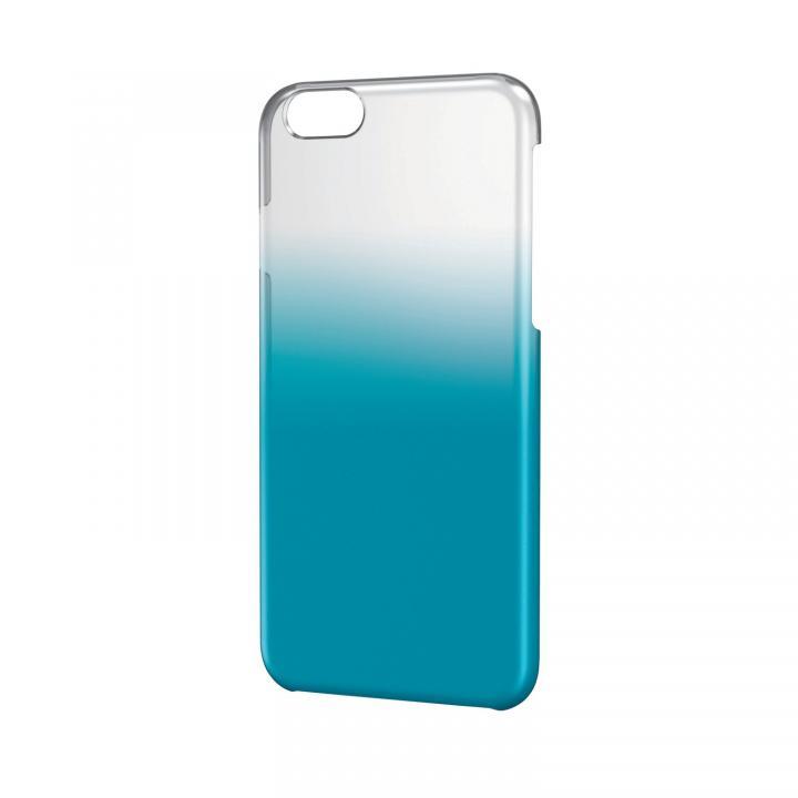 ハードグラデーションケース クリア×ブルー iPhone 6ケース