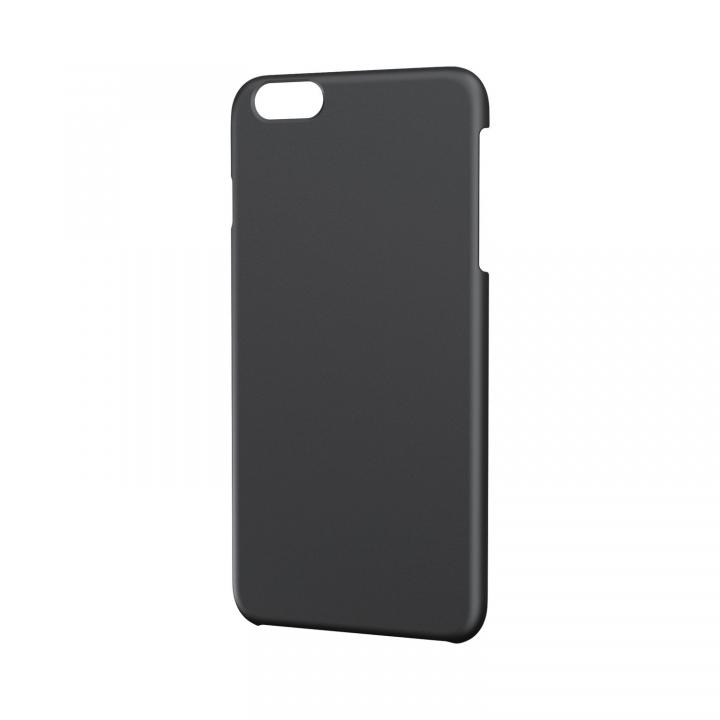 【iPhone6 Plusケース】ポリカーボネート製 スリムハードケース ブラック iPhone 6 Plusケース_0