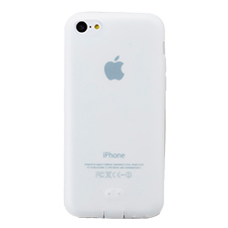 抗菌シリコンケースセット クリア iPhone 5cケース_0