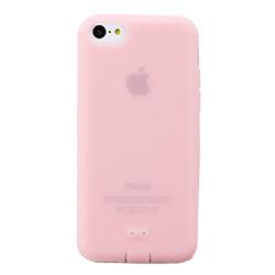 抗菌シリコンケースセット ピンク iPhone 5cケース_0