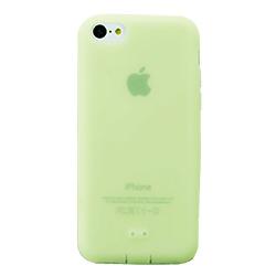抗菌シリコンケースセット グリーン iPhone 5cケース