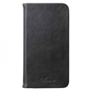 【iPhone6 Plusケース】ソフトレザースタンド手帳型ケース ブラック iPhone 6 Plusケース_5