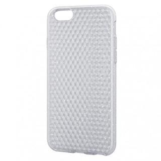 iPhone6 ケース ダイヤモンドカットラメクリアソフトケース iPhone 6 ケース
