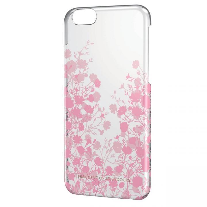 【iPhone6ケース】女子柄シェルケース フラワーシルエット iPhone 6ケース_0