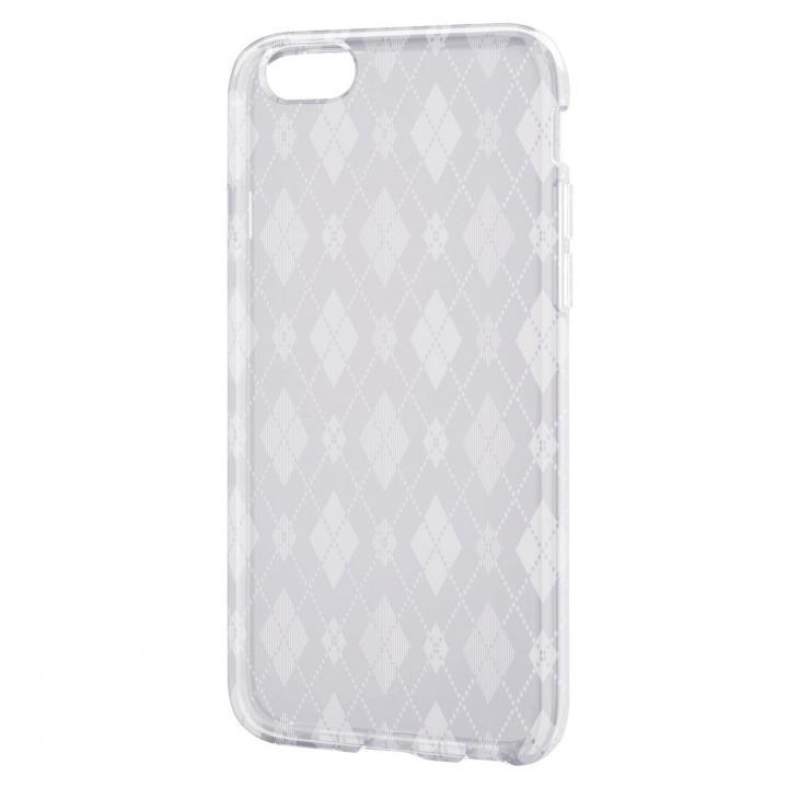 iPhone6 ケース クリアソフトケース すりガラス調デザイン iPhone 6ケース_0