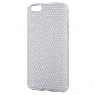 ダイヤモンドカットラメクリアソフトケース iPhone 6 Plusケース