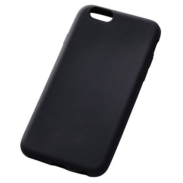 iPhone6s/6 ケース シリコンケース ブラック iPhone 6s/6_0