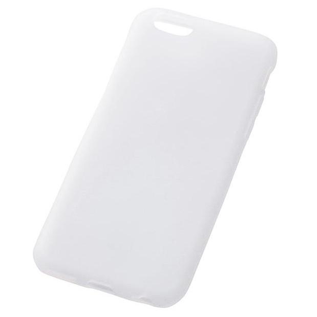 iPhone6s/6 ケース シリコンケース ホワイト(半透明) iPhone 6s/6_0
