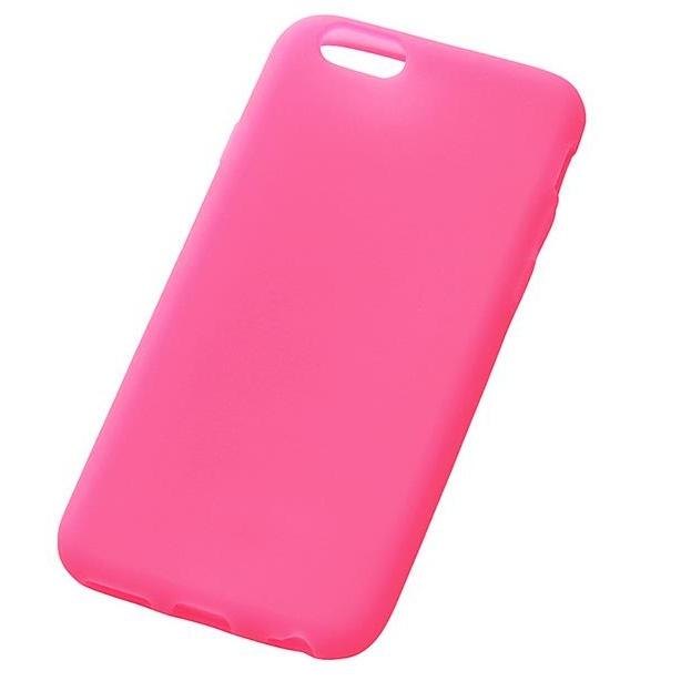 iPhone6s/6 ケース シリコンケース ピンク(半透明) iPhone 6s/6_0
