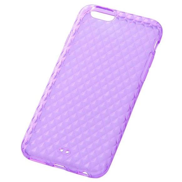 iPhone6s/6 ケース キラキラソフトケース バイオレット iPhone 6s/6_0