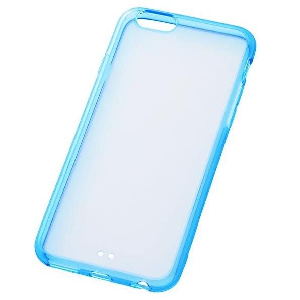iPhone6s/6 ケース ハイブリッドケース クリアブルー iPhone 6s/6_0