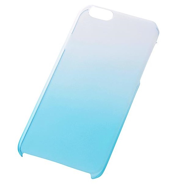 iPhone6s/6 ケース 極薄ハードケース ブルー iPhone 6s/6_0
