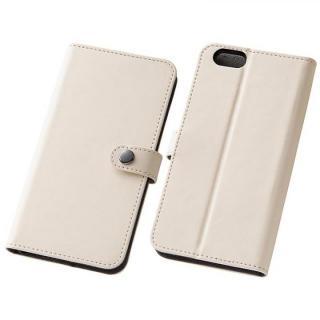 iPhone6s/6 ケース シンプルレザー手帳型ケース ホワイト iPhone 6s/6