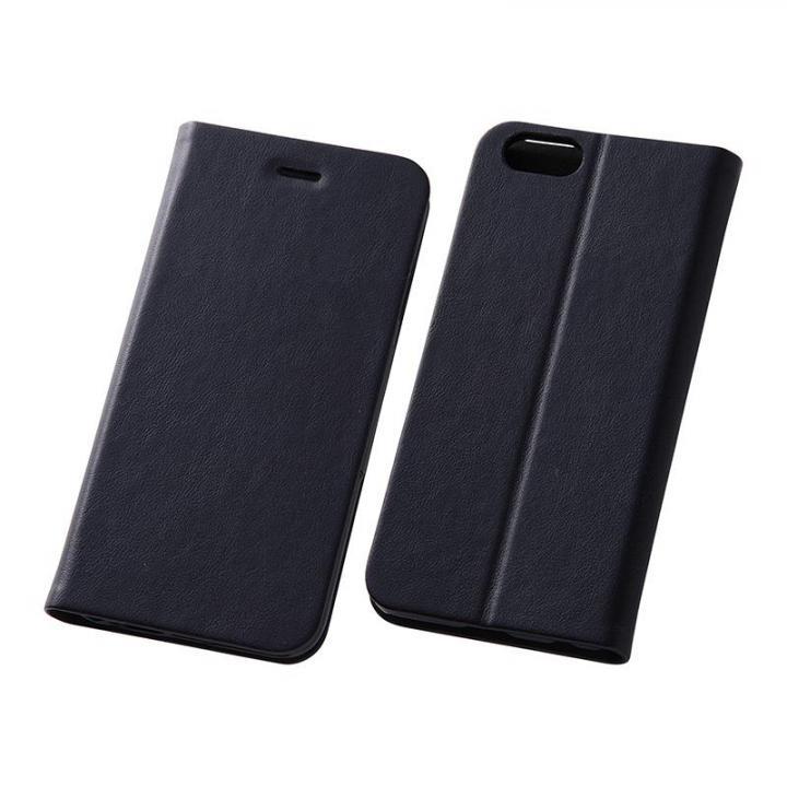 【iPhone6s/6ケース】スマートレザー手帳型ケース ブラック iPhone 6s/6_0