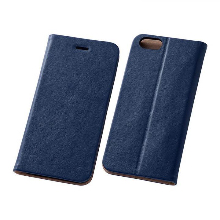 スマートレザー手帳型ケース ネイビー iPhone 6s/6