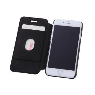 【iPhone6s/6ケース】スタンド機能付きスリム手帳型ケース ブラック iPhone 6s/6_1