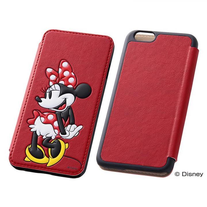 iPhone6s/6 ケース ディズニー ポップアップ手帳型ケース ミニー iPhone 6s/6_0