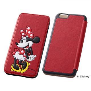 iPhone6s/6 ケース ディズニー ポップアップ手帳型ケース ミニー iPhone 6s/6