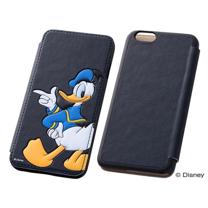 iPhone6s/6 ケース ディズニー ポップアップ手帳型ケース ドナルド iPhone 6s/6_0