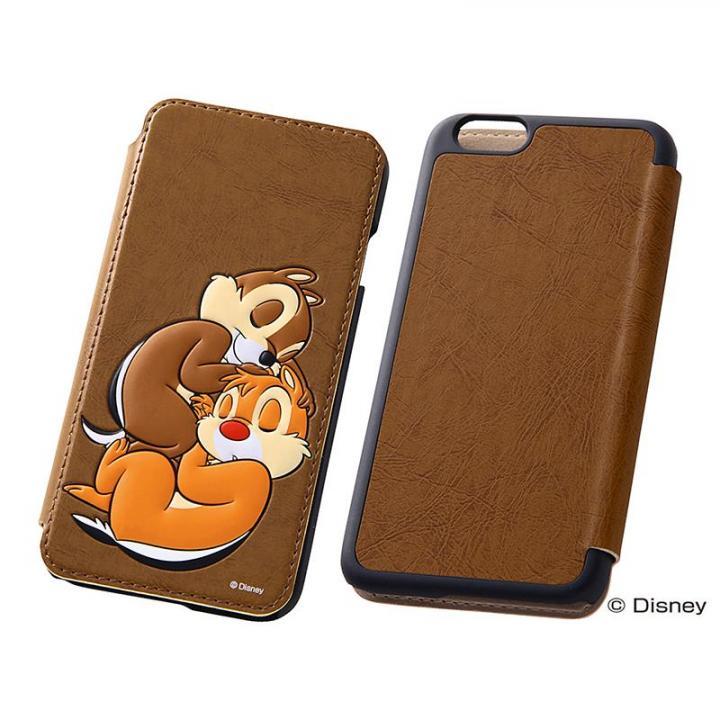 iPhone6s/6 ケース ディズニー ポップアップ手帳型ケース チップ&デール iPhone 6s/6_0