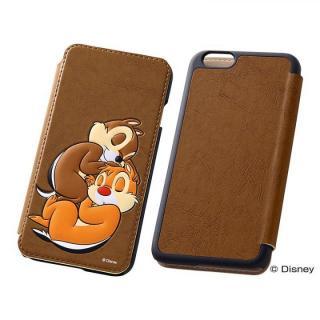 ディズニー ポップアップ手帳型ケース チップ&デール iPhone 6s/6