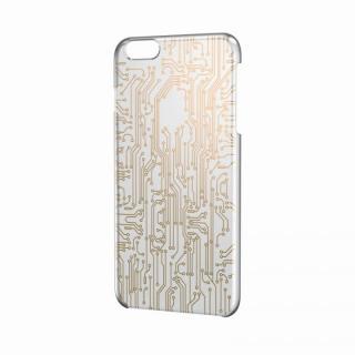 iPhone6 Plus ケース アートに演出 アップルテクスチャーハードケース サーキット(ゴールド) iPhone 6 Plusケース