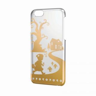 iPhone6 ケース アートに演出 アップルテクスチャーハードクリアケース ゴールド 赤ずきん iPhone 6ケース