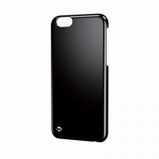 ストラップホール付きハードケース ブラック iPhone 6ケース