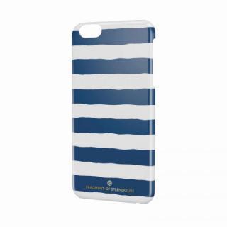 女子柄ハードケース ボーダー iPhone 6 Plusケース