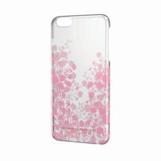 女子柄ハードケース フラワーシルエット iPhone 6 Plusケース