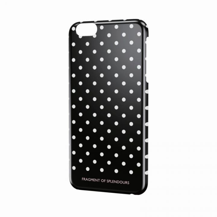 女子柄ハードケース ドット iPhone 6 Plusケース
