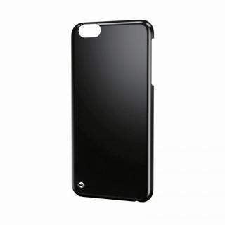ストラップホール付きハードケース ブラック iPhone 6 Plusケース