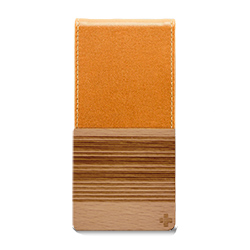 【iPhone SE/5s/5ケース】iPhone SE/5s用 バーチカルフリップスタイルケース(オレンジ)_0