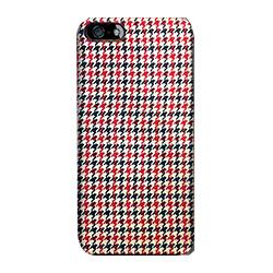 【iPhone SE/5s/5ケース】iPhone SE/5s用 ファブリックカバーセット(千鳥格子)
