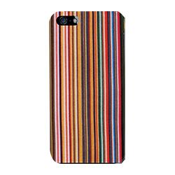 iPhone SE/5s/5 ケース iPhone SE/5s用 ファブリックカバーセット(ミックスストライプ)_0