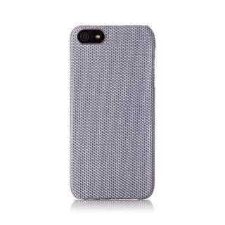 【iPhone SE/5s/5ケース】iPhone SE/5s用 ファブリックカバーセット(ソリッドグレイ)