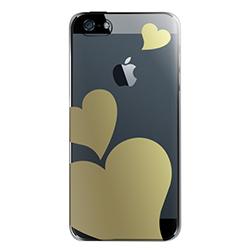 iPhone SE/5s/5 ケース iPhone SE/5s用 フローティングパターンカバーセット(ラブ)_0