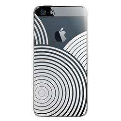 【iPhone SE/5s/5ケース】iPhone SE/5s用 フローティングパターンカバーセット(ゼン)_0
