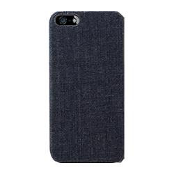 iPhone SE/5s/5 ケース iPhone SE/5s用 ファブリックカバーセット(デニム)_0